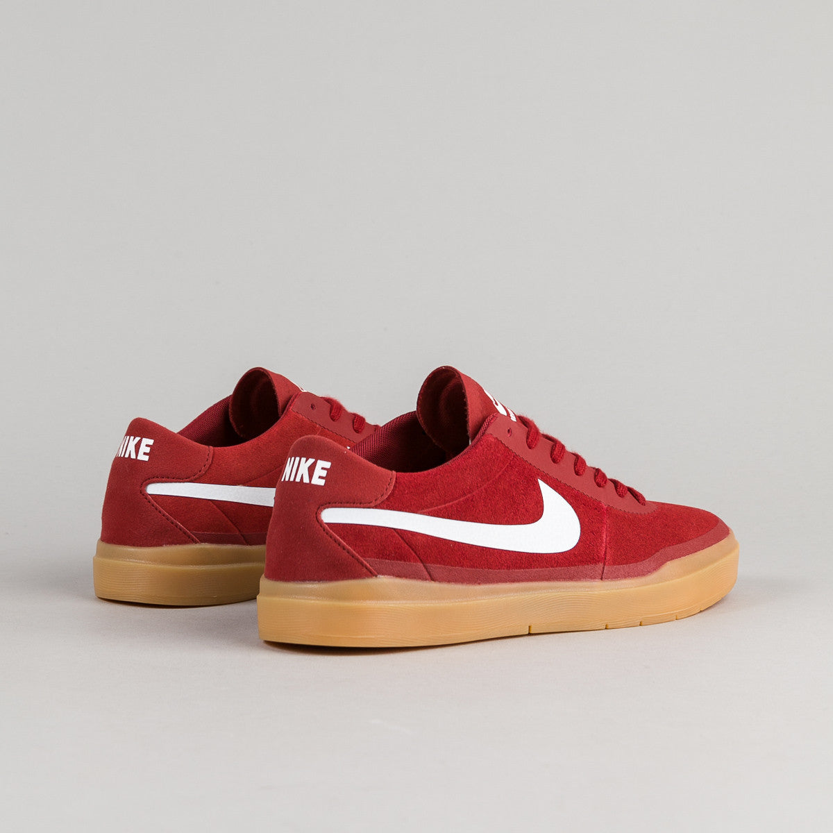 nike sb bruin hyperfeel shoes dark cayenne gum light. Black Bedroom Furniture Sets. Home Design Ideas