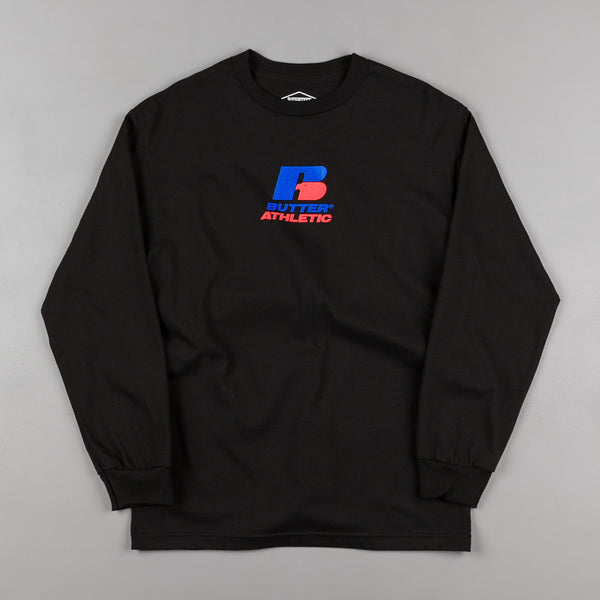 Butter Goods Athletic Long Sleeve T-Shirt - Black