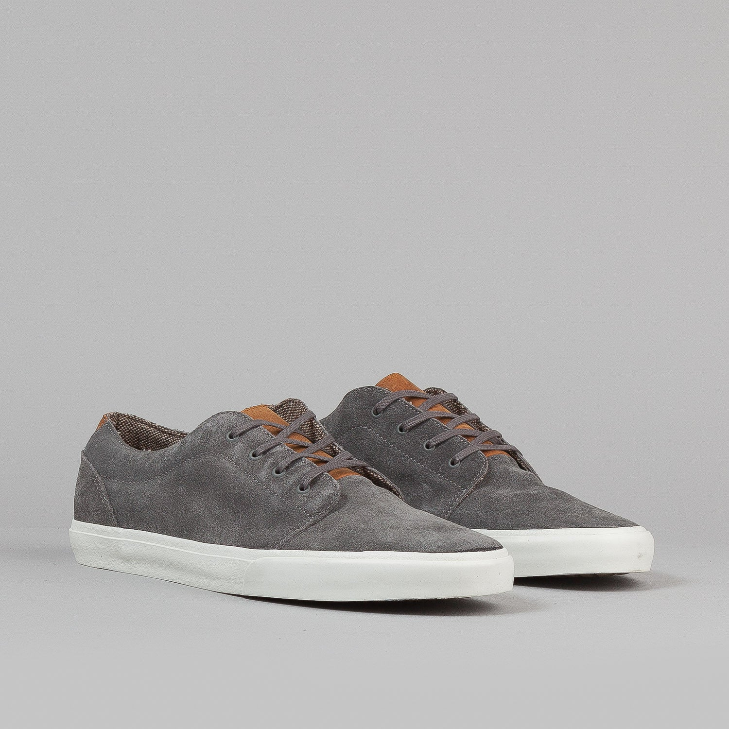 Vans 106 Vulc CA Shoes - (Suede) Charcoal Grey