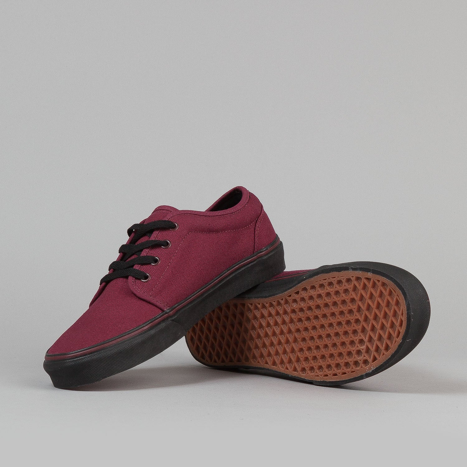 Vans 106 Vulc Shoes - (10oz Canvas) Zinfandel / Black