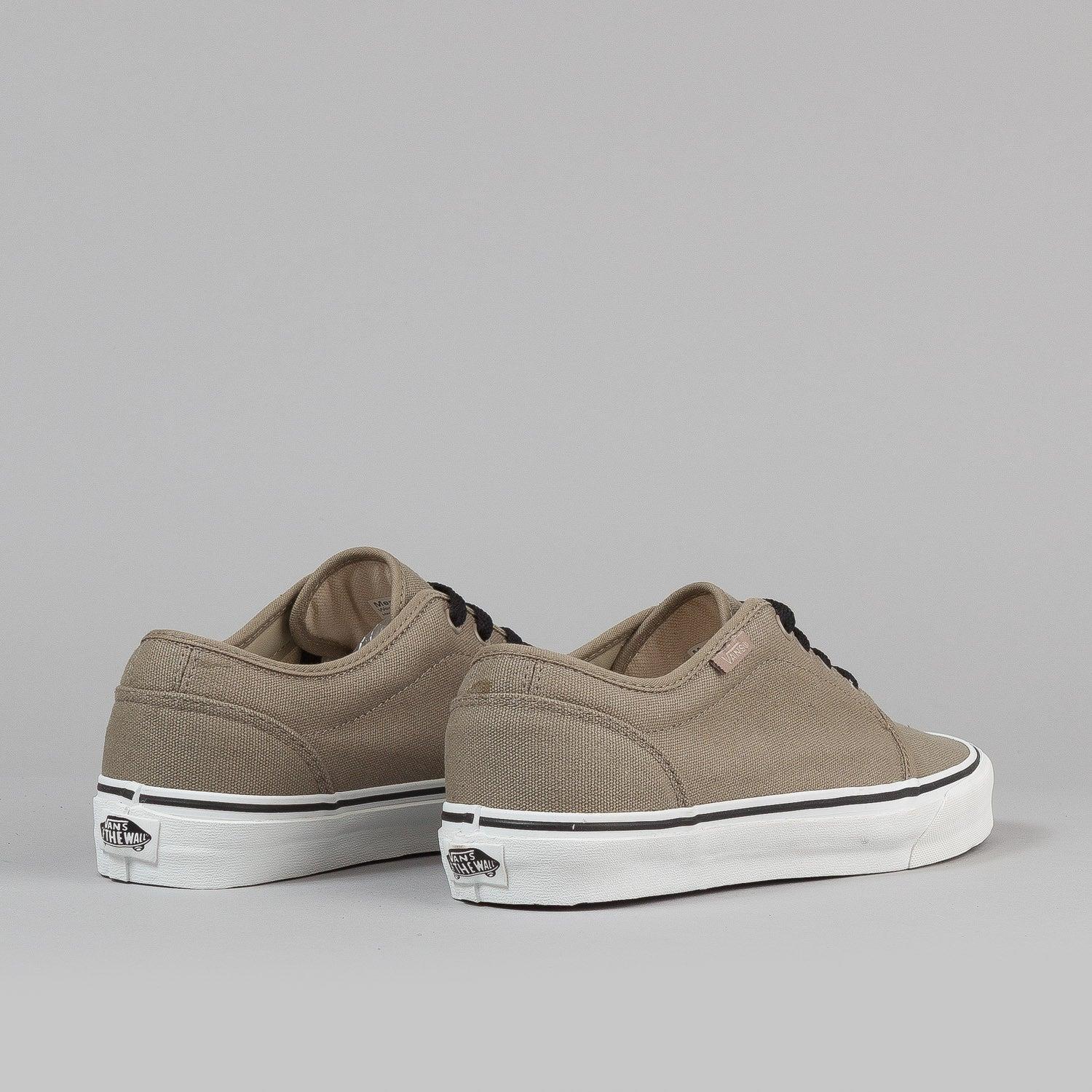 Vans 106 Vulc Shoes - (Canvas) Dune / Black