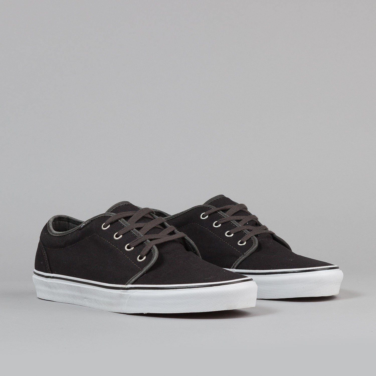 Vans 106 Vulc Shoes - (Garment Dye) Black