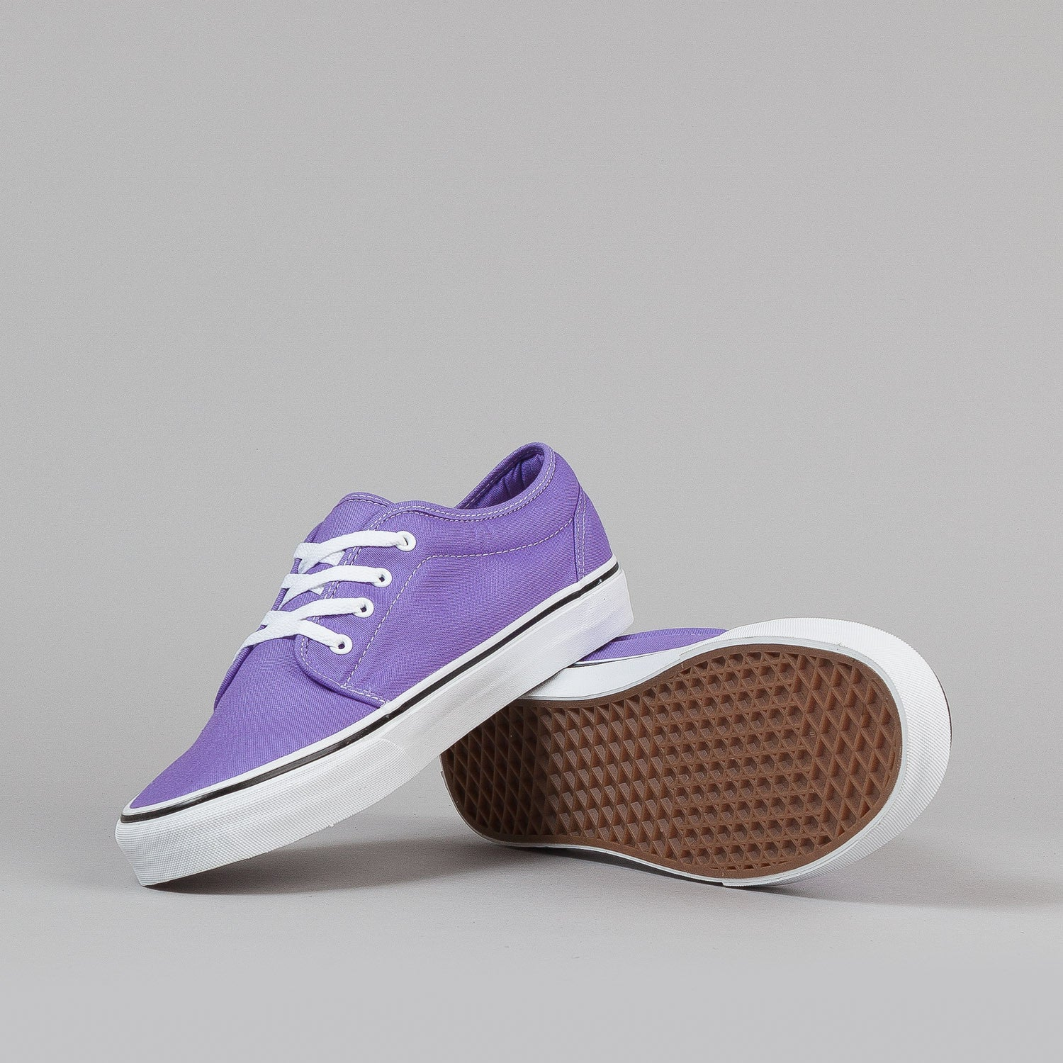 Vans 106 Vulc Shoes - Paisley Purple / True White