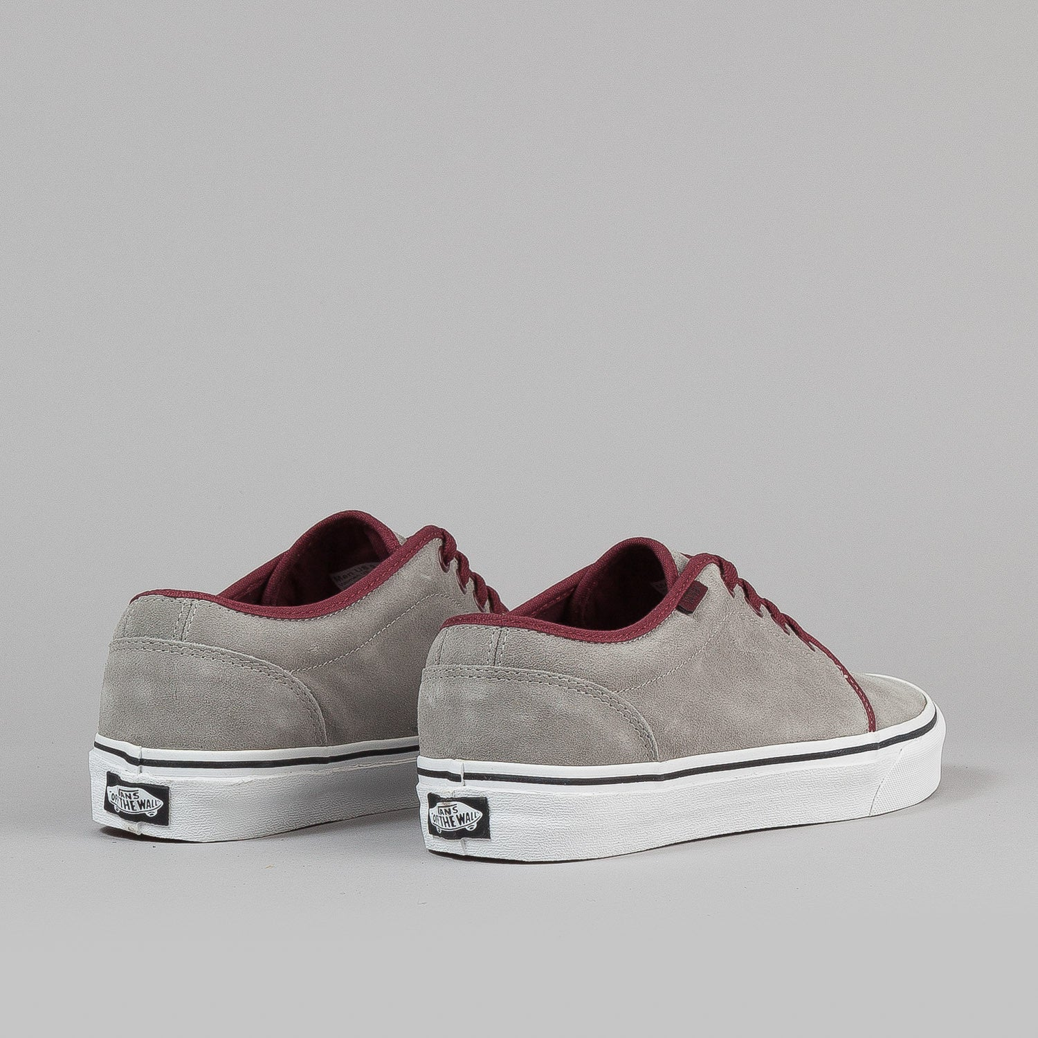 Vans 106 Vulc Shoes - (Suede) Flint Grey / Choc Truffle