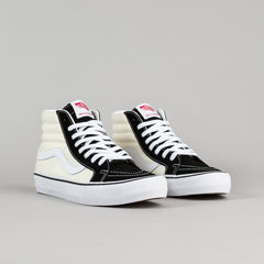 Vans 50th Sk8-Hi Reissue '87 Shoes - Black / Classic White
