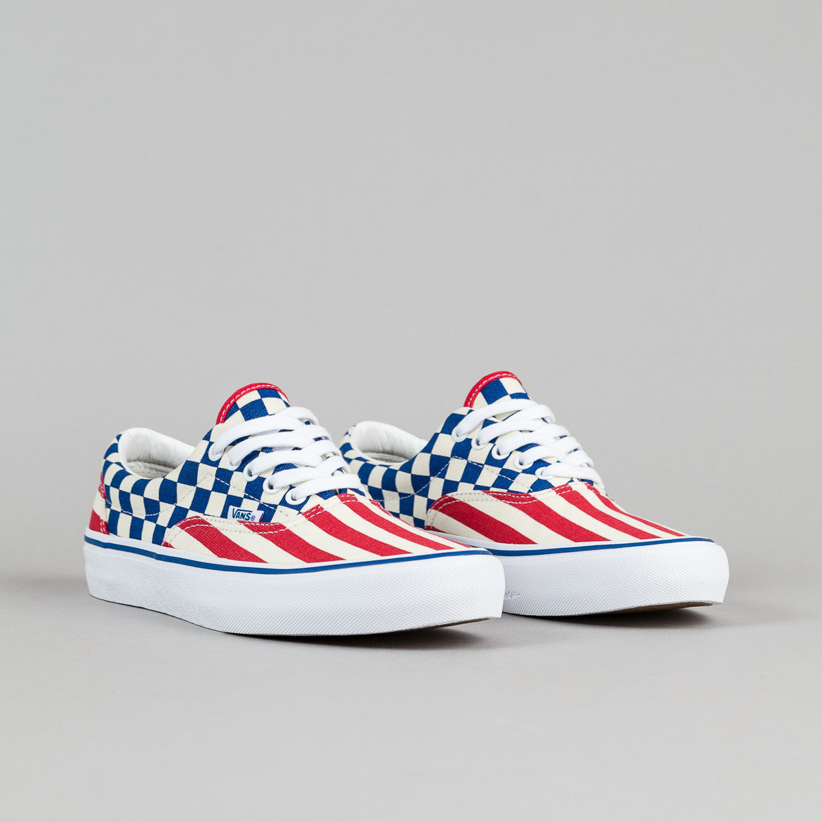 Vans 50th Era Pro '83 Shoes - Stripes / Checkers