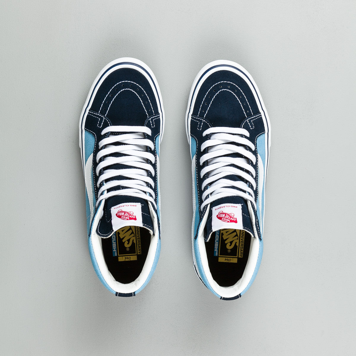 Vans 50th Sk8-Hi Reissue '86 Shoes - Navy / White