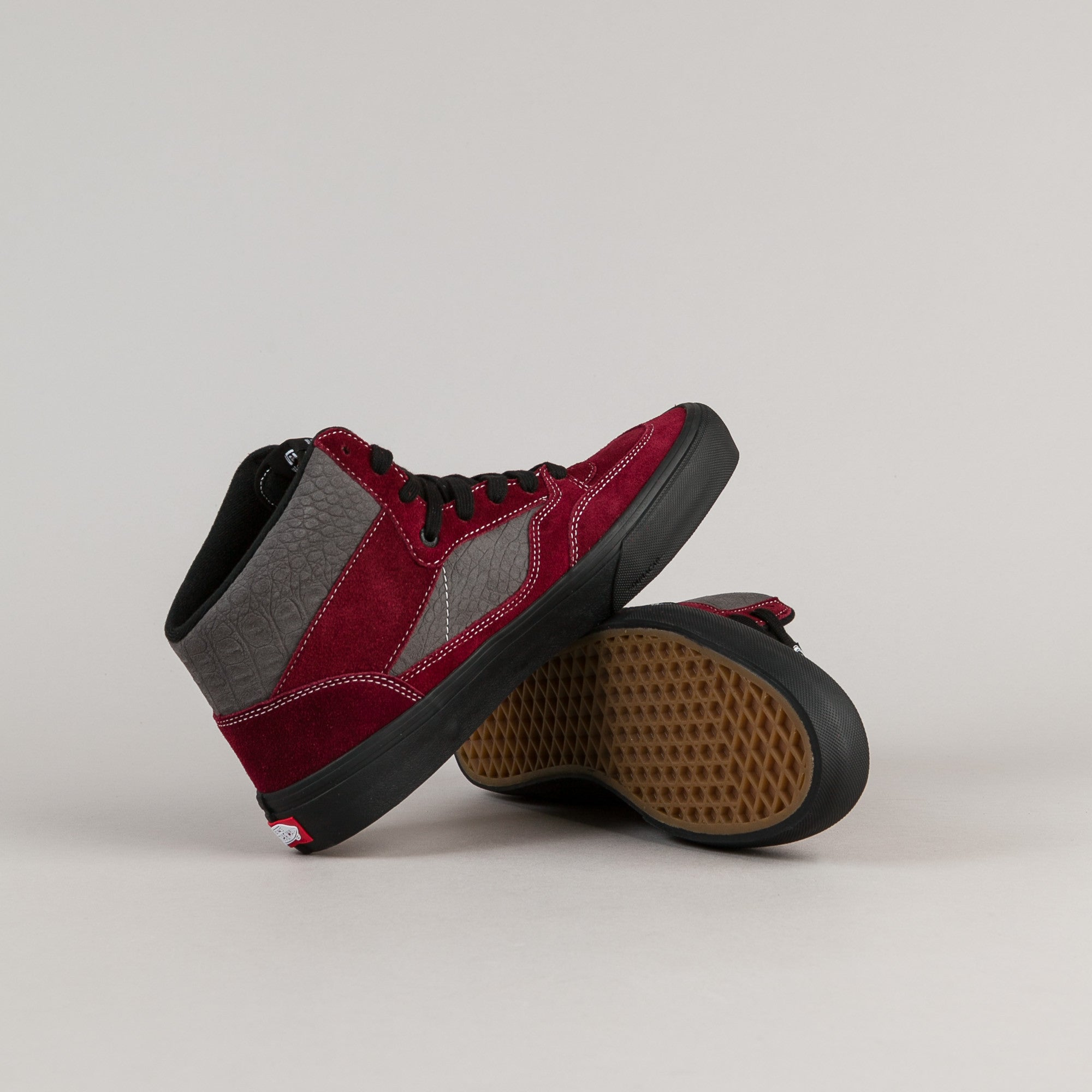 Vans 50th Full Cab Pro '89 Shoes - Burgundy / Grey