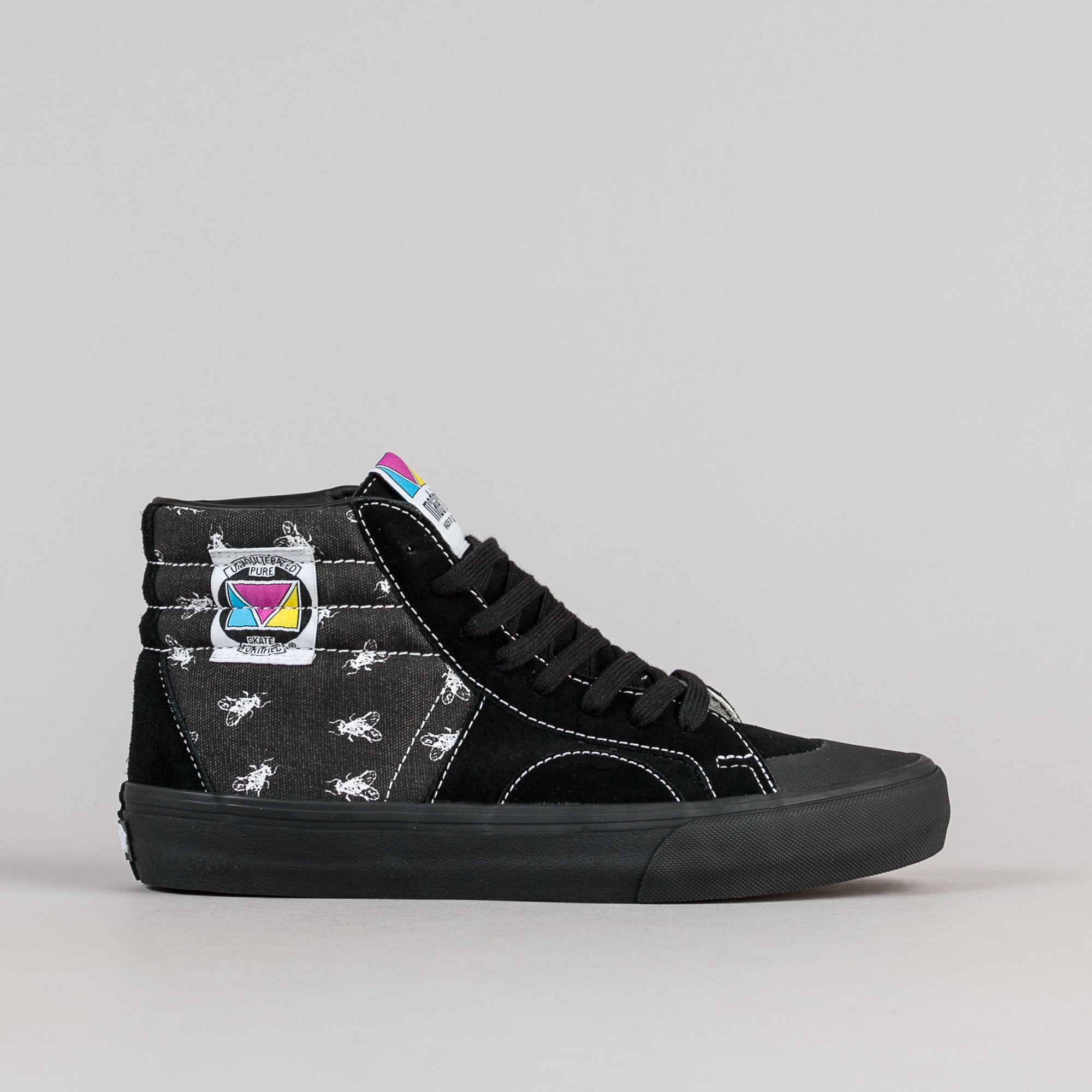 Vans 50th Madrid Pro Reissue '87 Shoes - Flys / Black