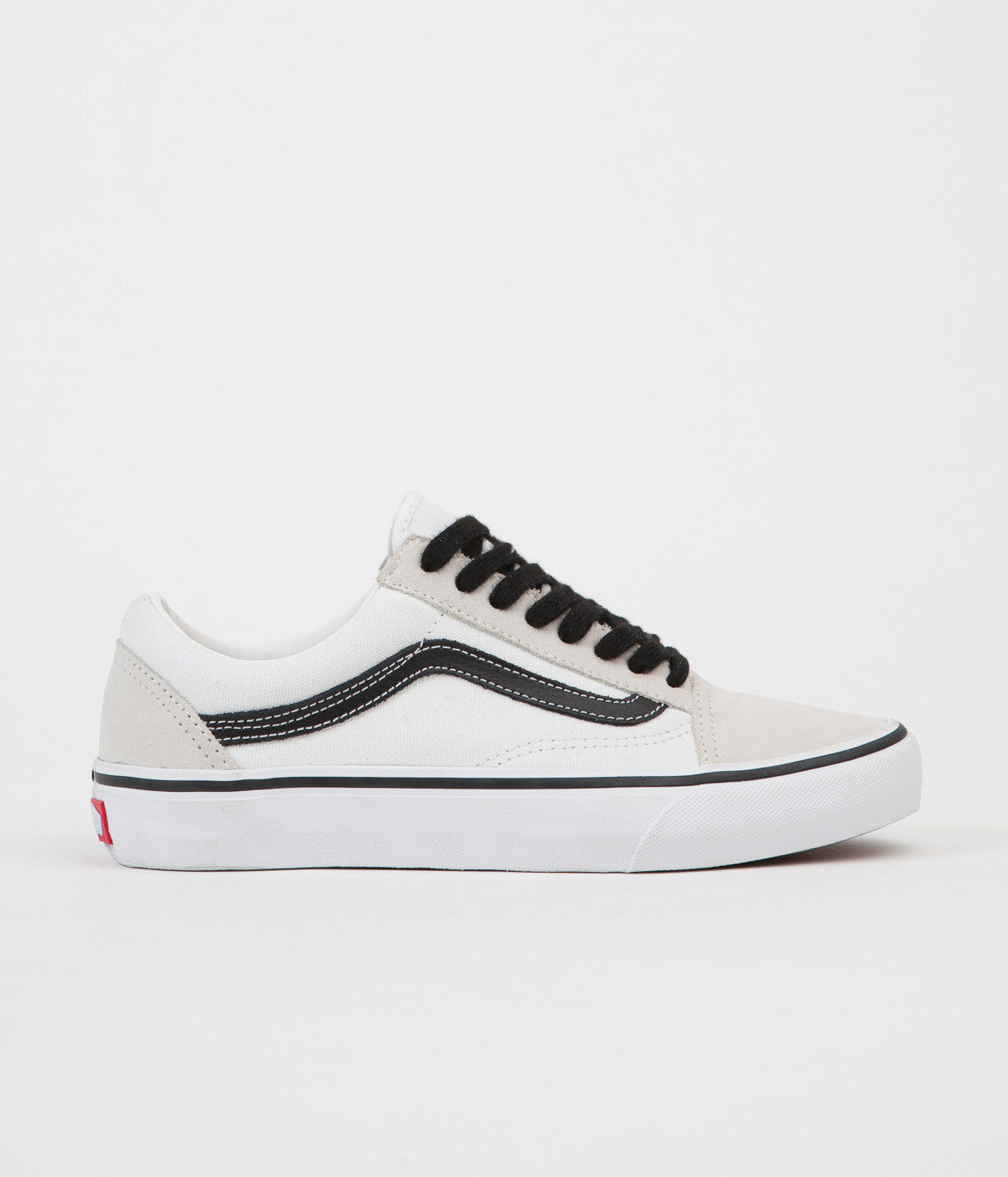 Vans 50th Old Skool Pro  92 Shoes - White   Black  8a370404533b
