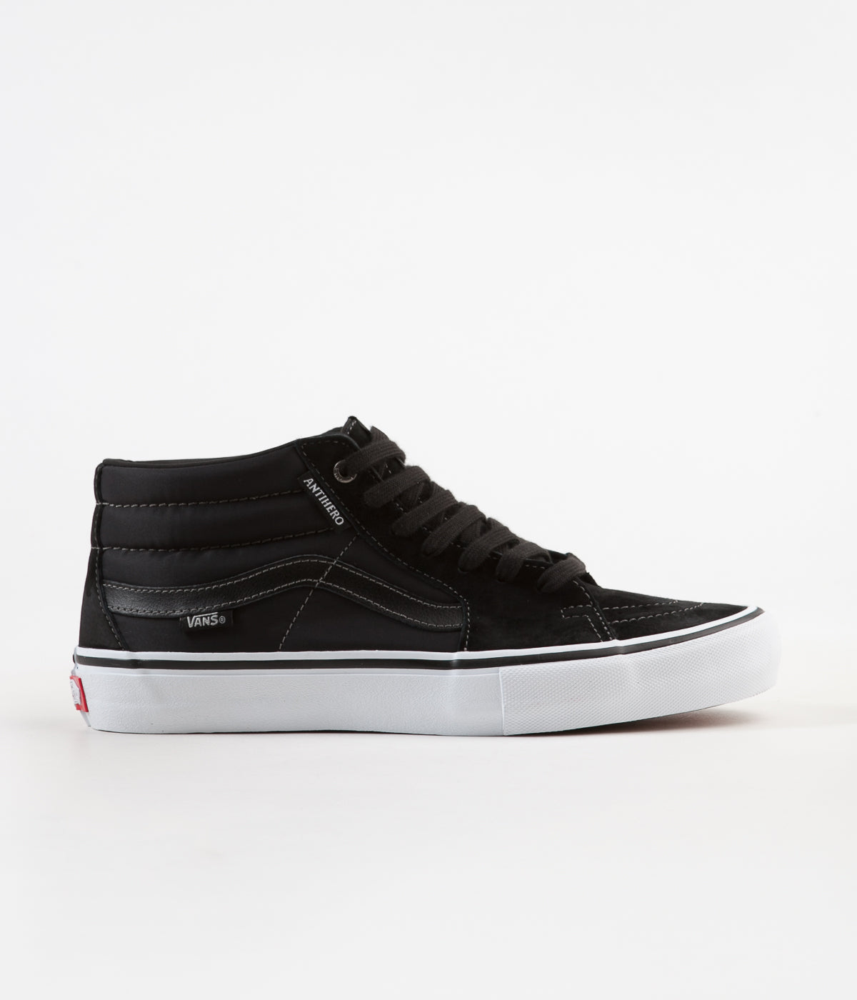 35caa4f4e4 Vans x Anti Hero Sk8-Mid Pro Shoes - Grosso   Black