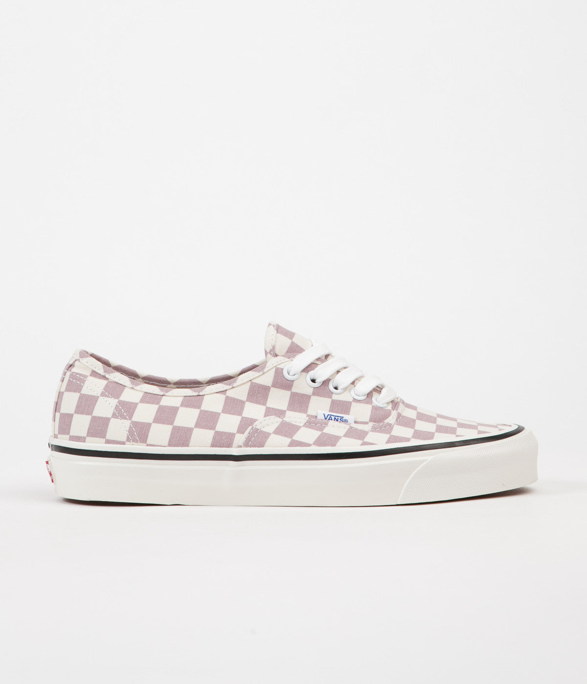 Vans Authentic 44 DX Anaheim Factory Shoes - OG Mauve Check  d959c9210