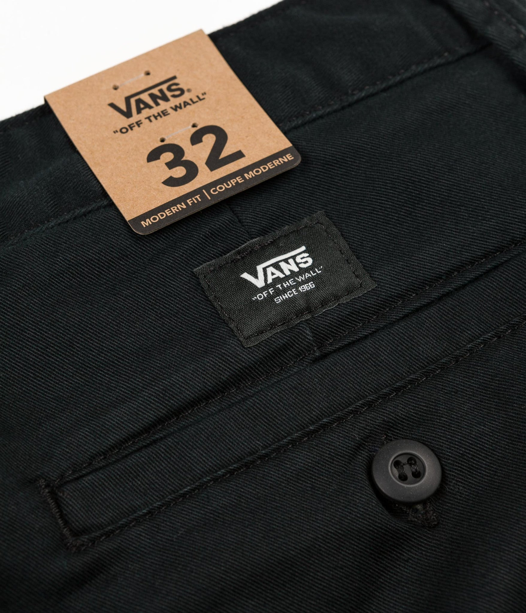 Vans Authentic Chino Trousers - Black
