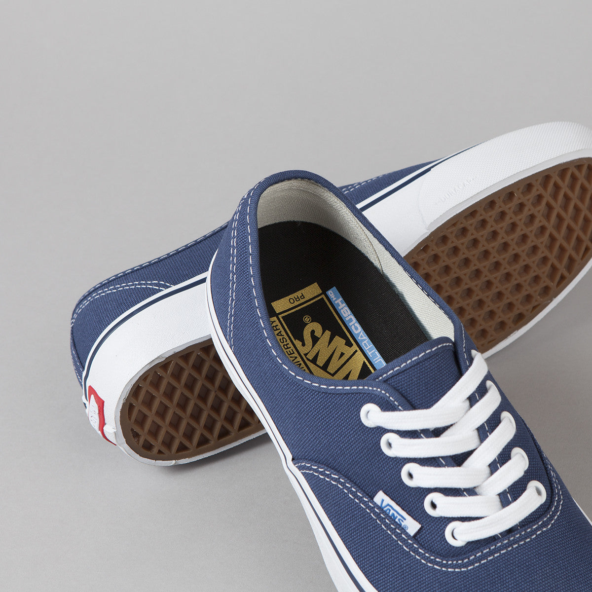 Vans 50th Authentic Pro '74 Shoes - Navy / White