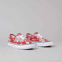 Vans 50th Authentic Pro '66 Shoes  - Duke / Red / White