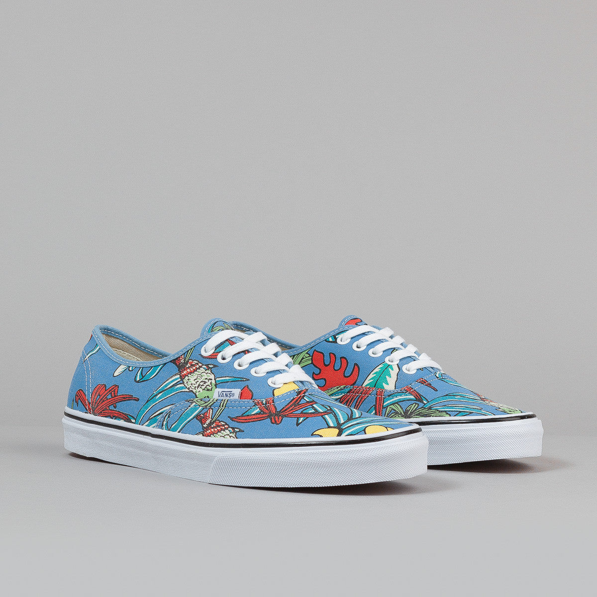 Vans Authentic Shoes - (Van Doren) Parrot / Light Blue