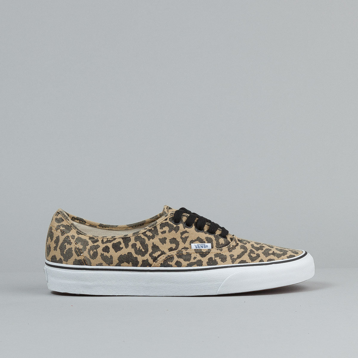 Vans Authentic (Van Doren) Leopard / Black