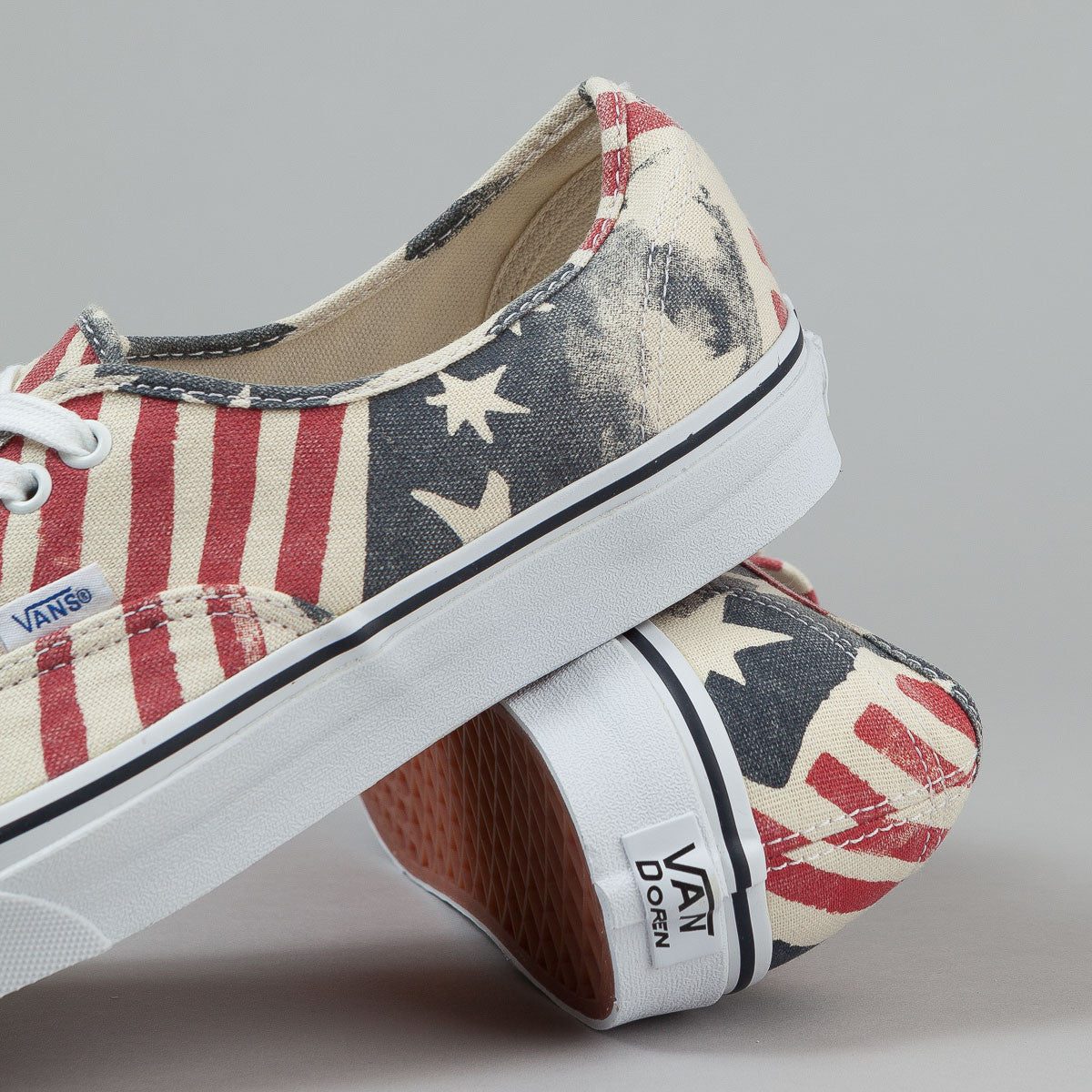 Vans Authentic (Van Doren) Retro Flag