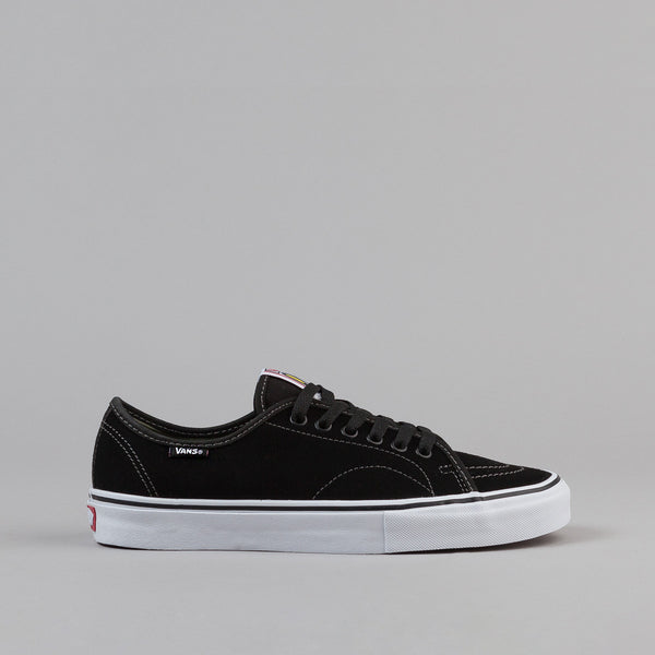 Vans AV Classic Shoes- Black / Olivine