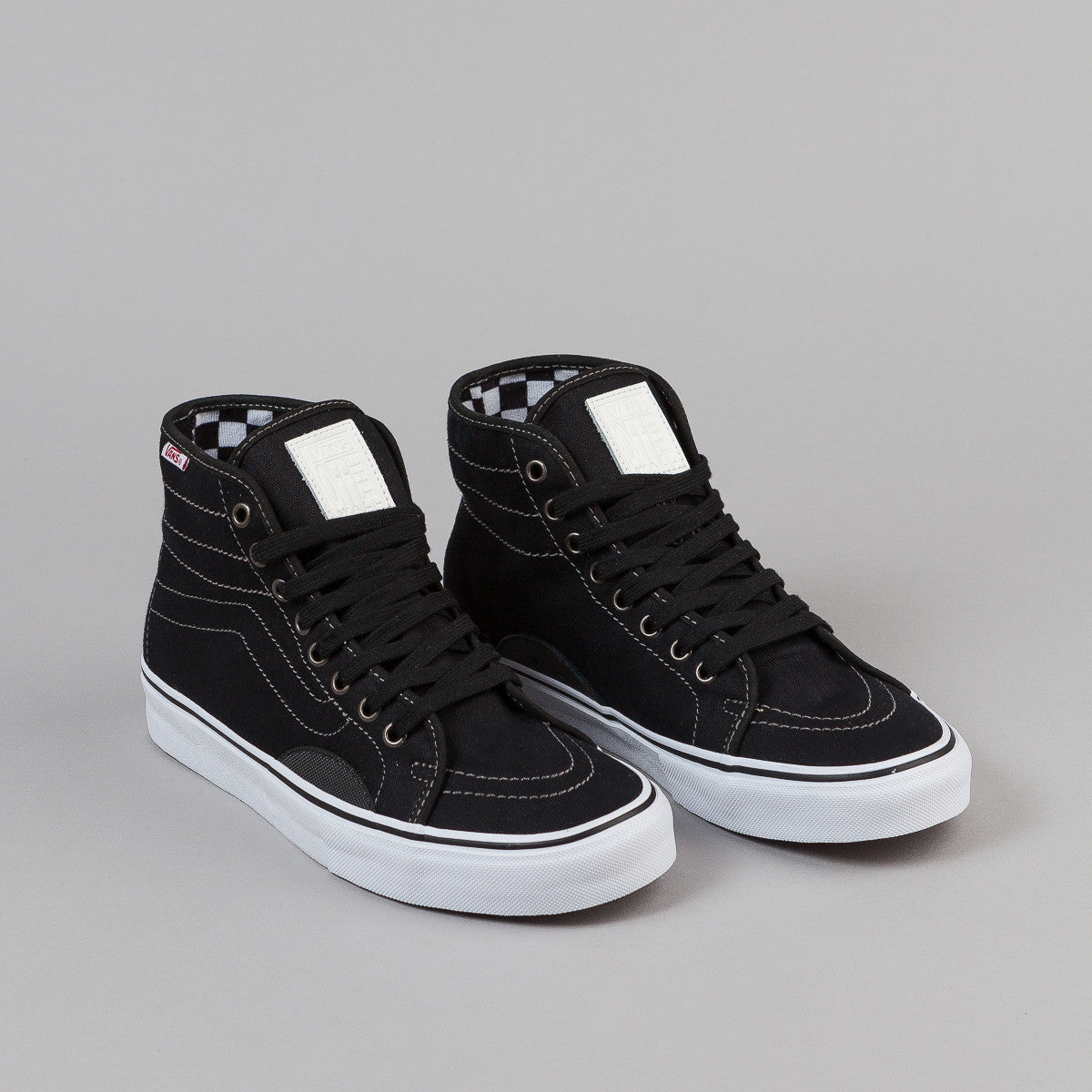 Vans AV Classic High Shoes - Herringbone Black / White