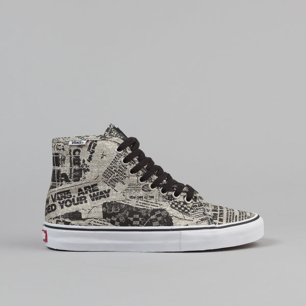 Vans AV Classic High Shoes (Newsprint)
