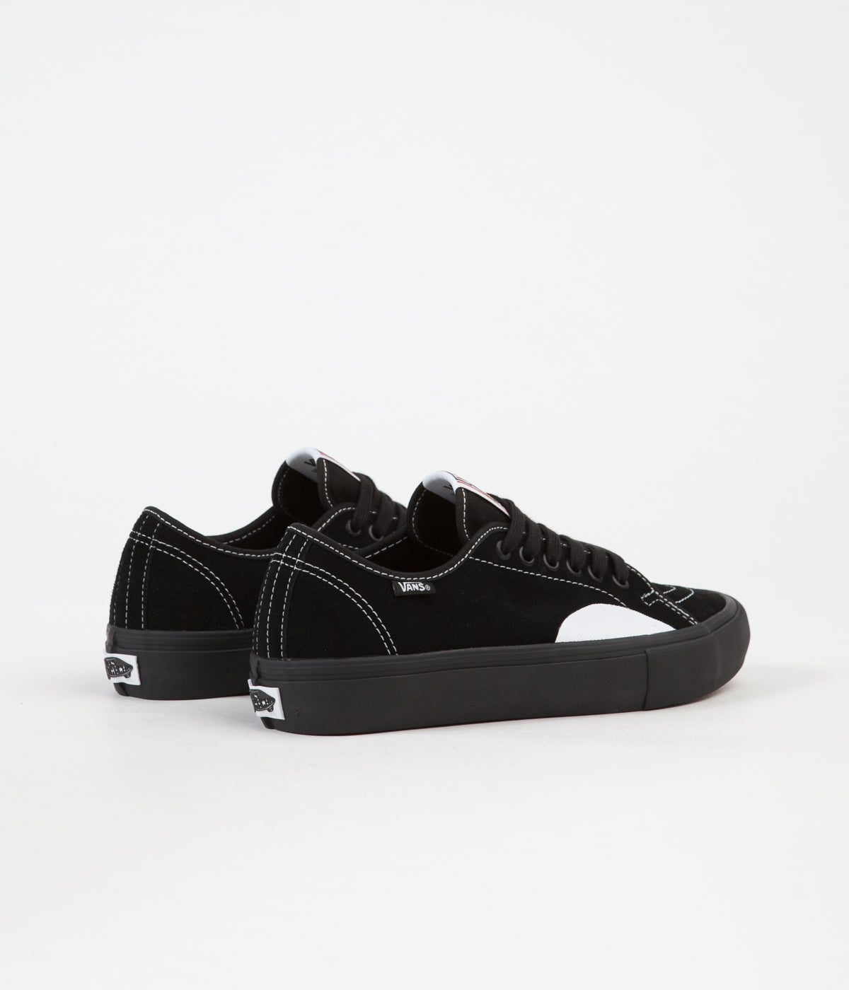 Vans AV Classic Pro Shoes - Black / Black / White