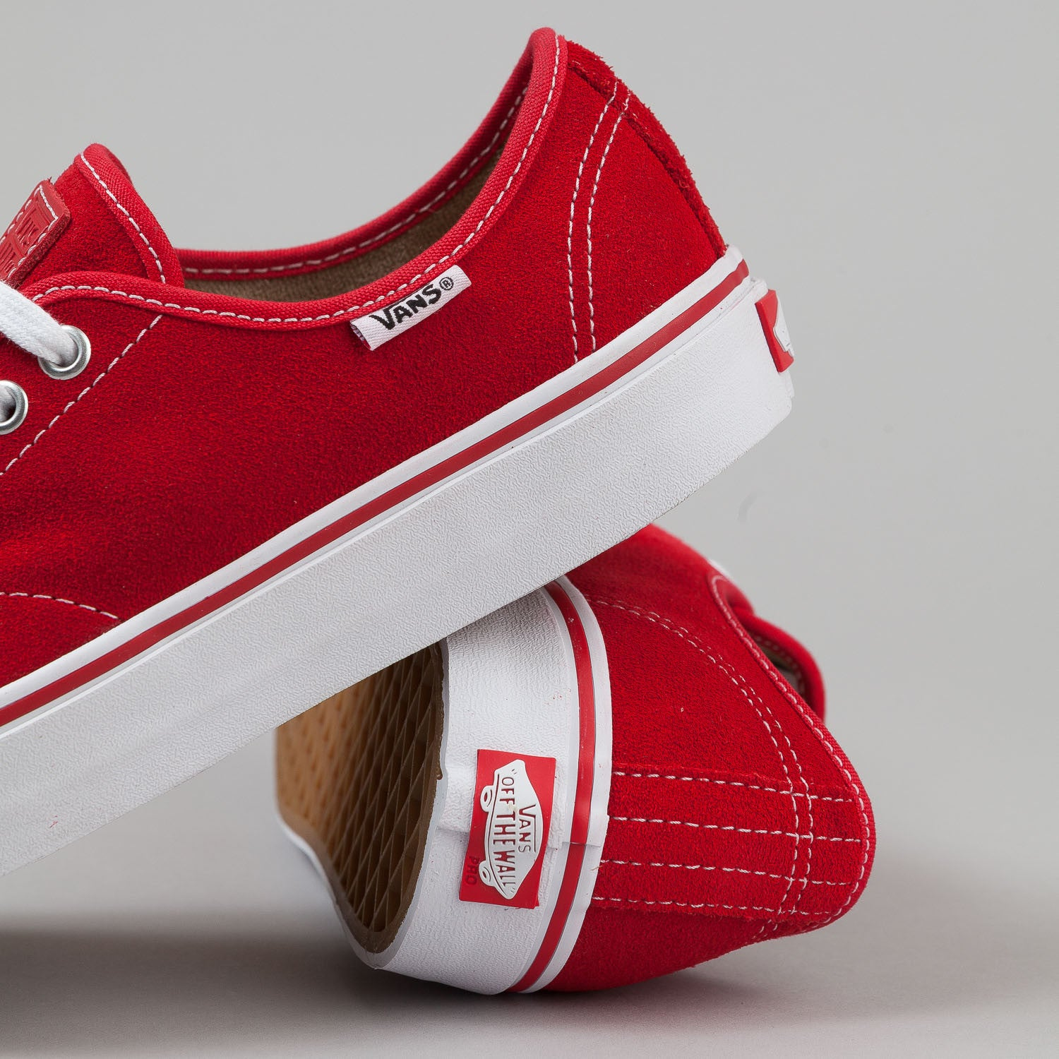 Vans AV Classic Shoes - Red