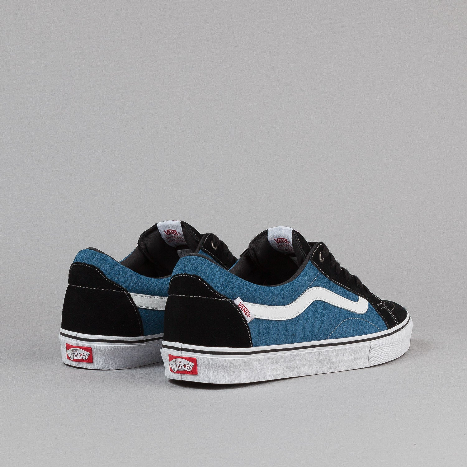 Vans AV Native American Lo Shoes - Black / Slate Blue