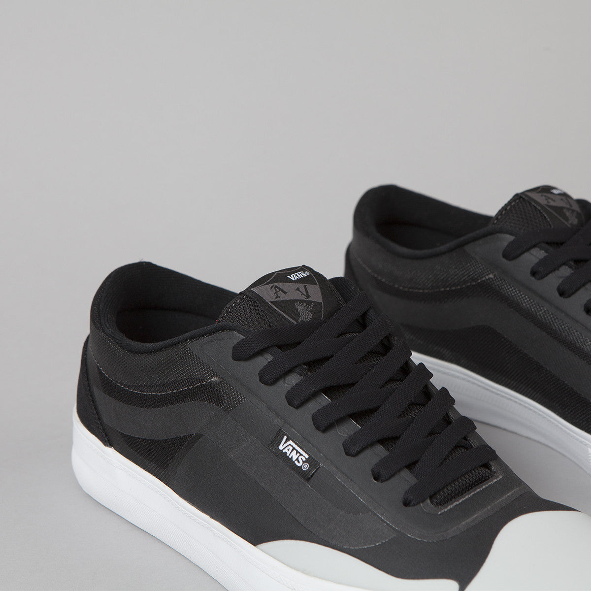 Vans AV Rapidweld Pro Shoes - Black / Light Grey