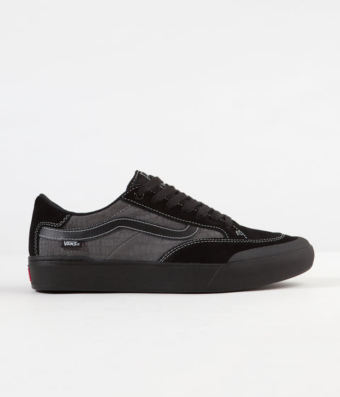 Vans Berle Pro Shoes - (Croc) Black / Pewter