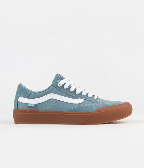 Vans Berle Pro Shoes - (Gum) Smoke Blue