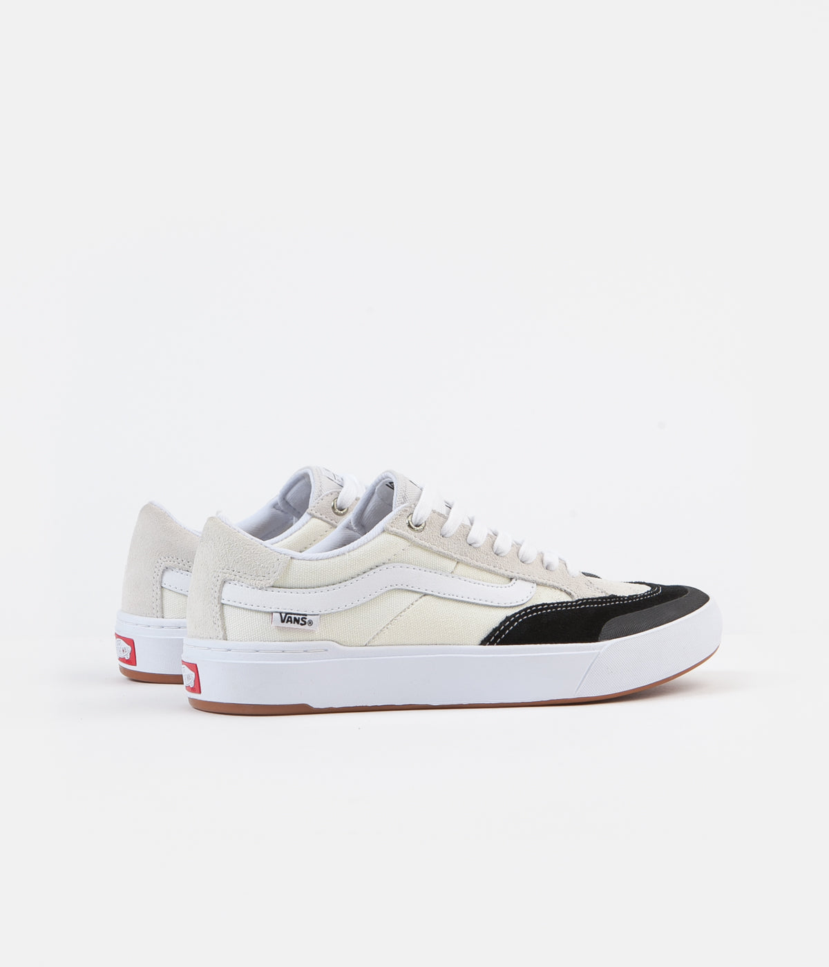 Vans Berle Pro Shoes - Marshmallow / Black