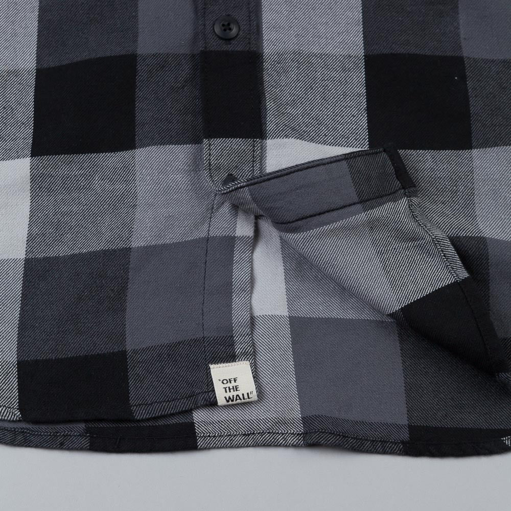 Vans Box Flannel Shirt Black / New Charcoal