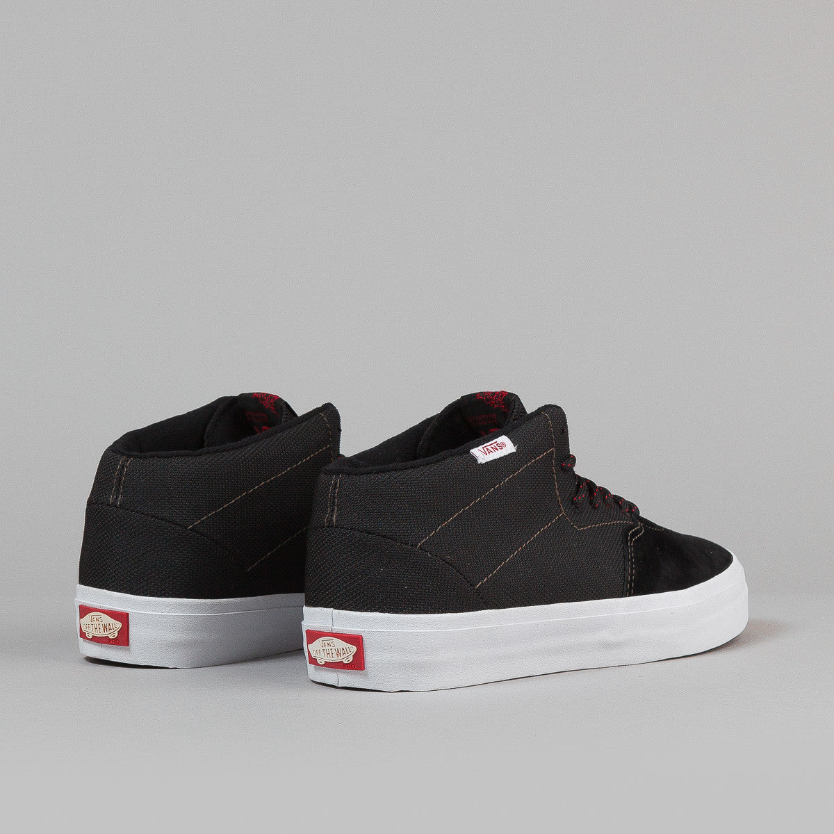 Vans Cab Lite Shoes - Black / Scarlet