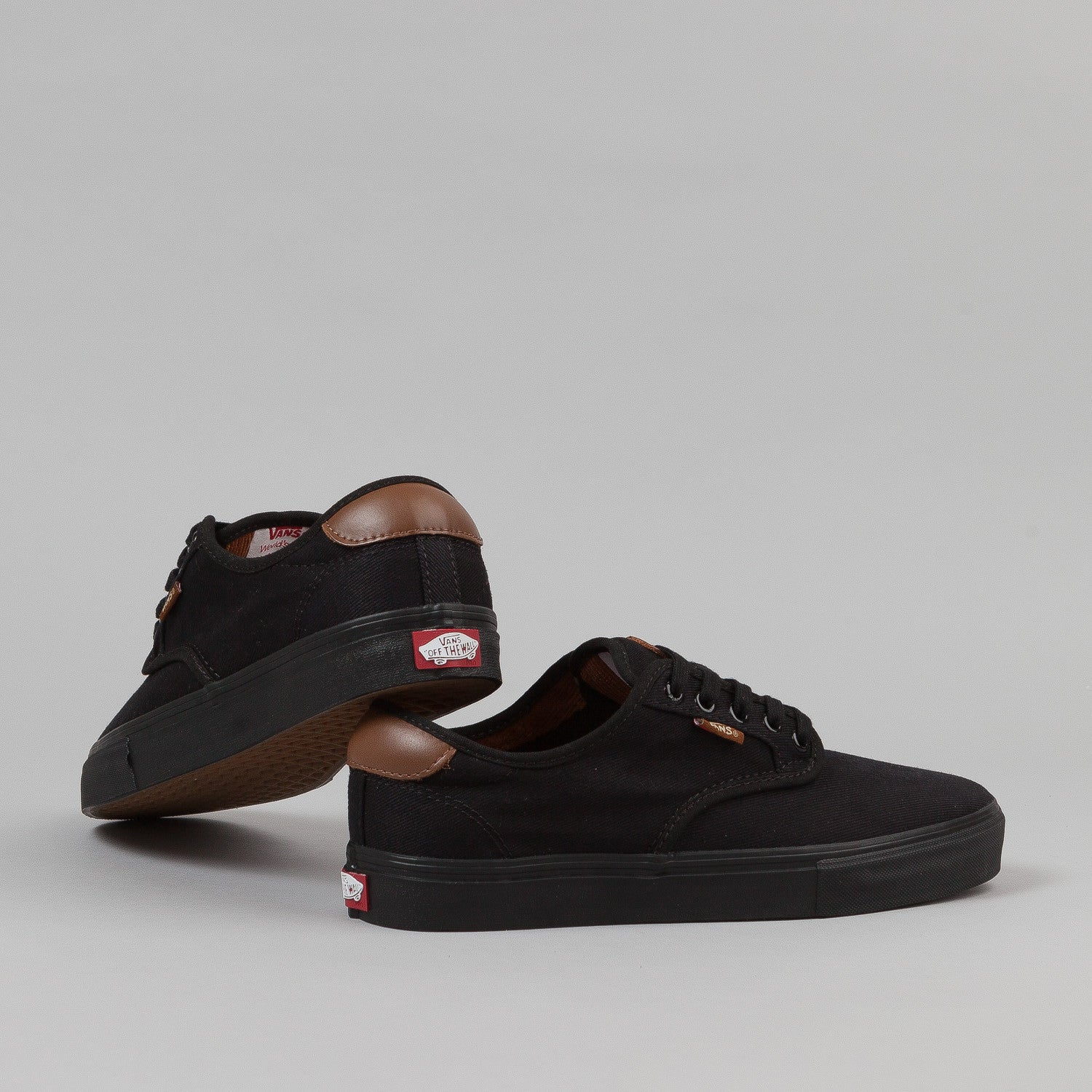 Vans Chima Ferguson Pro Shoes - Black / Black