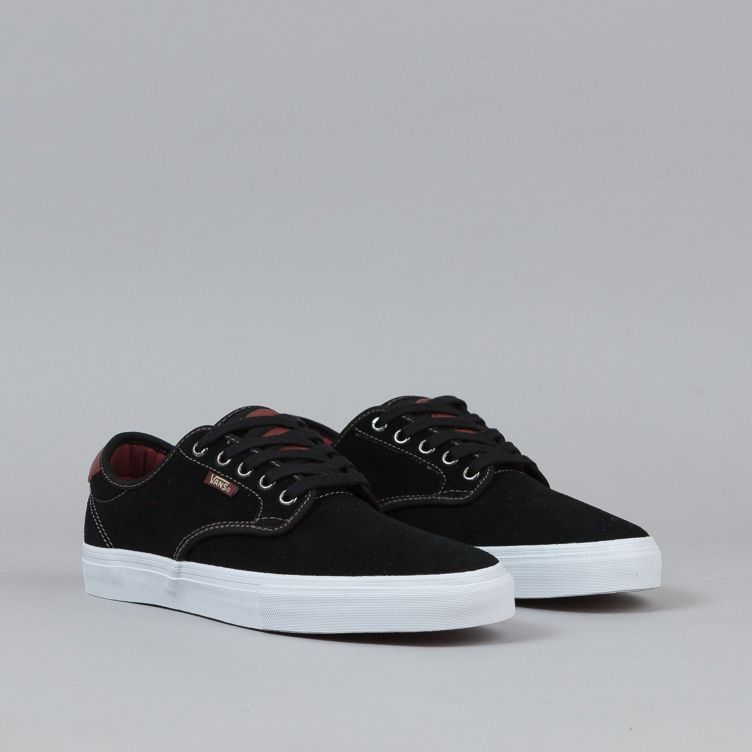Vans Chima Ferguson Pro Shoes - Black / Mahogany