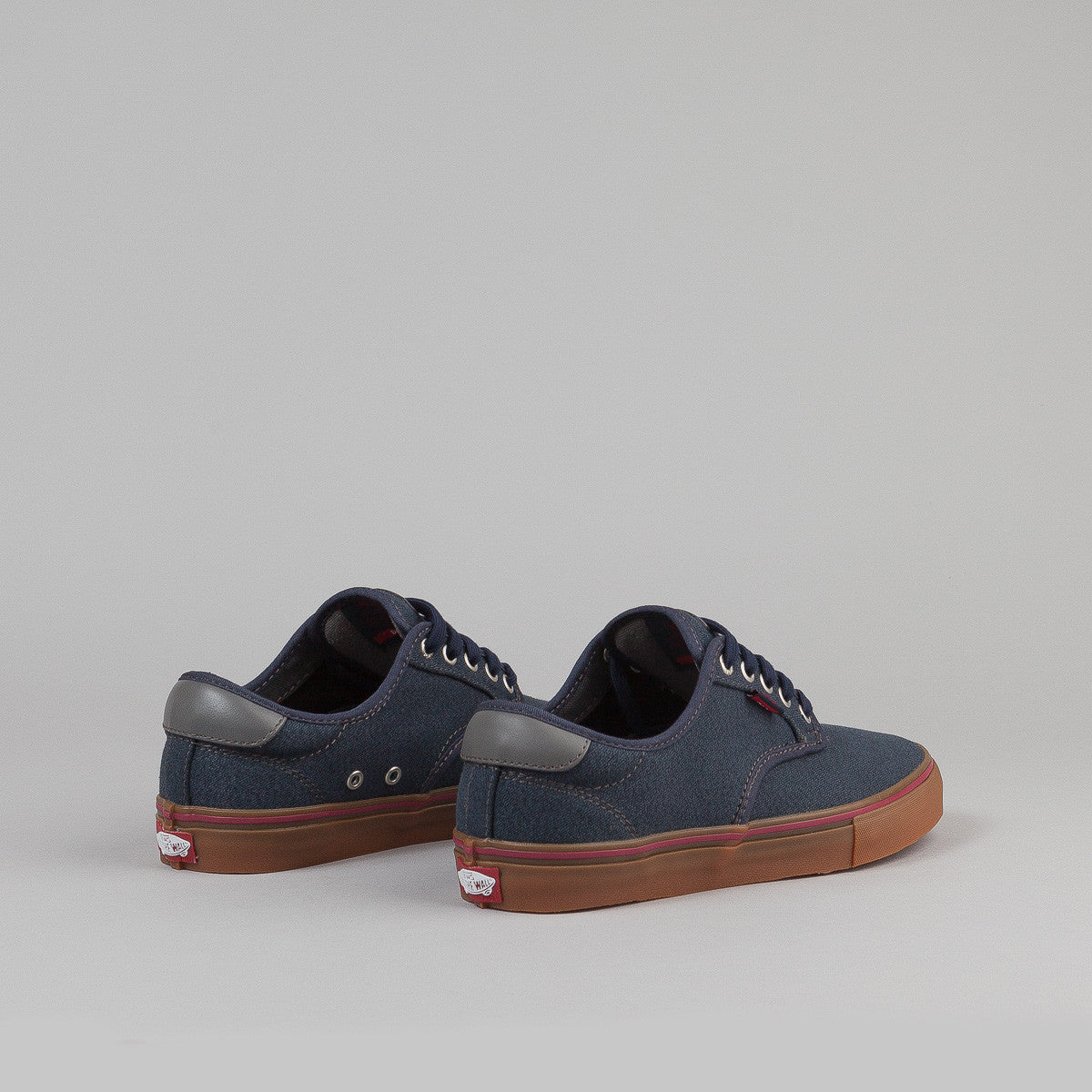 Vans Chima Ferguson Pro Shoes - (Covert Twill) Navy / Gum