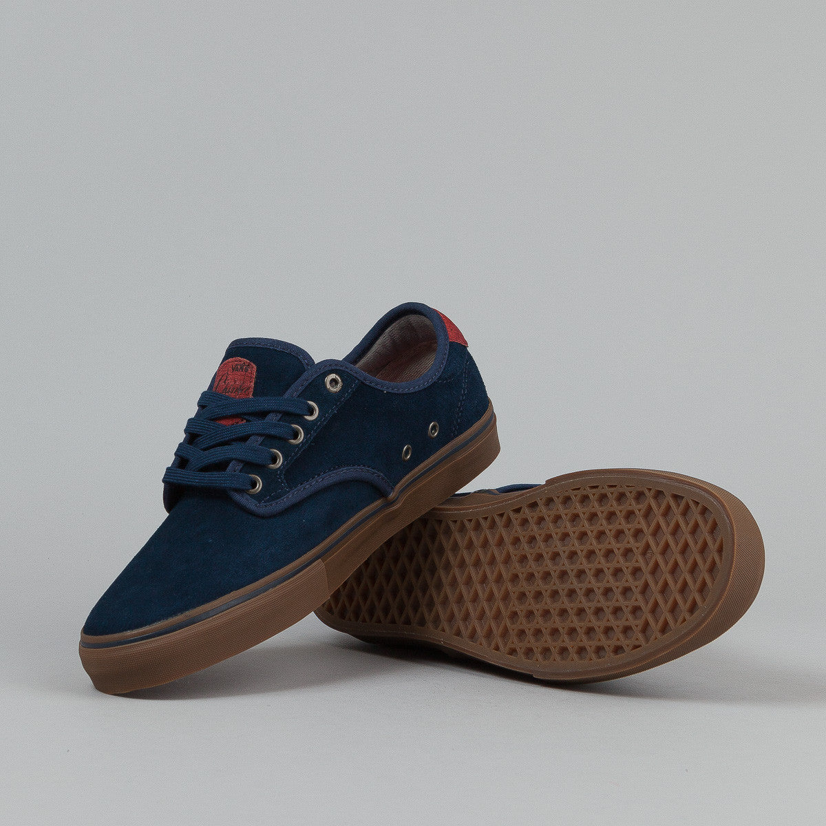 Vans Chima Ferguson Pro Shoes - (Suede) Navy / Gum