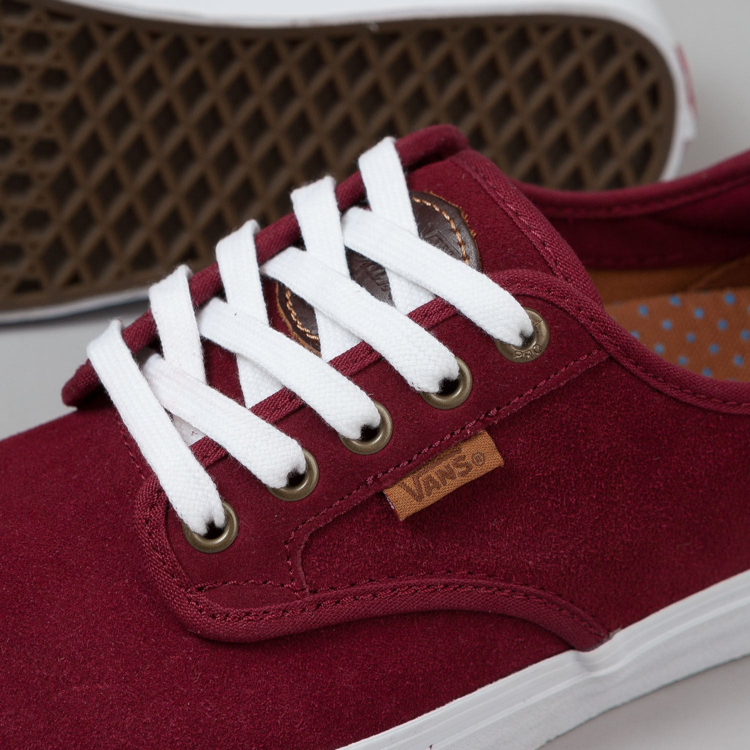 Vans Chima Ferguson Pro Shoes - (Saddle) Port