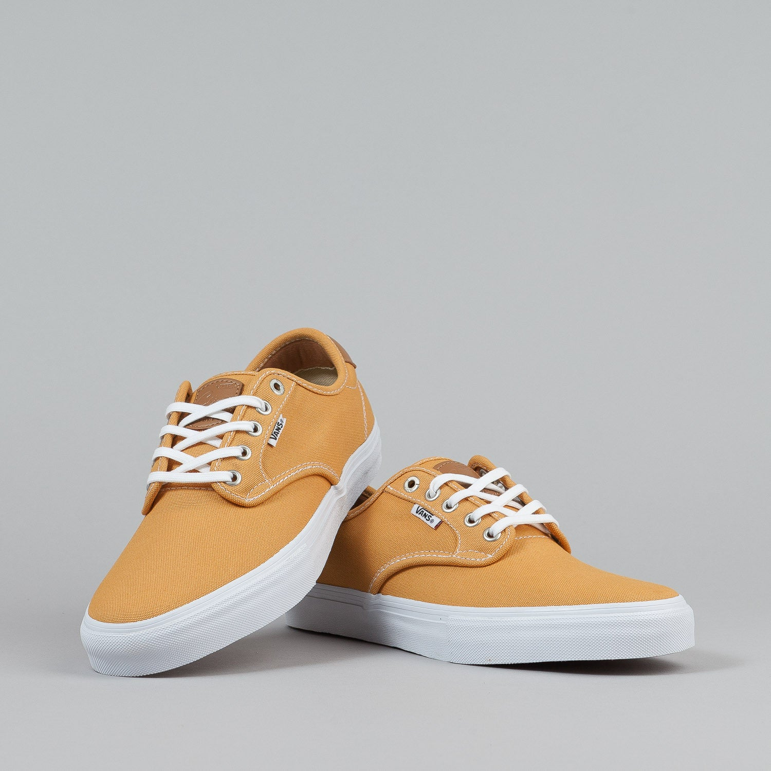 Vans Chima Ferguson Pro Shoes - Washed Canvas Gold