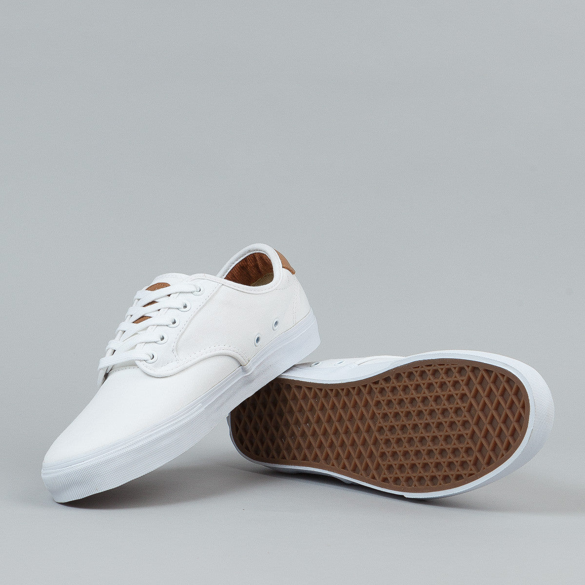 Vans Chima Ferguson Pro Shoes - White / White