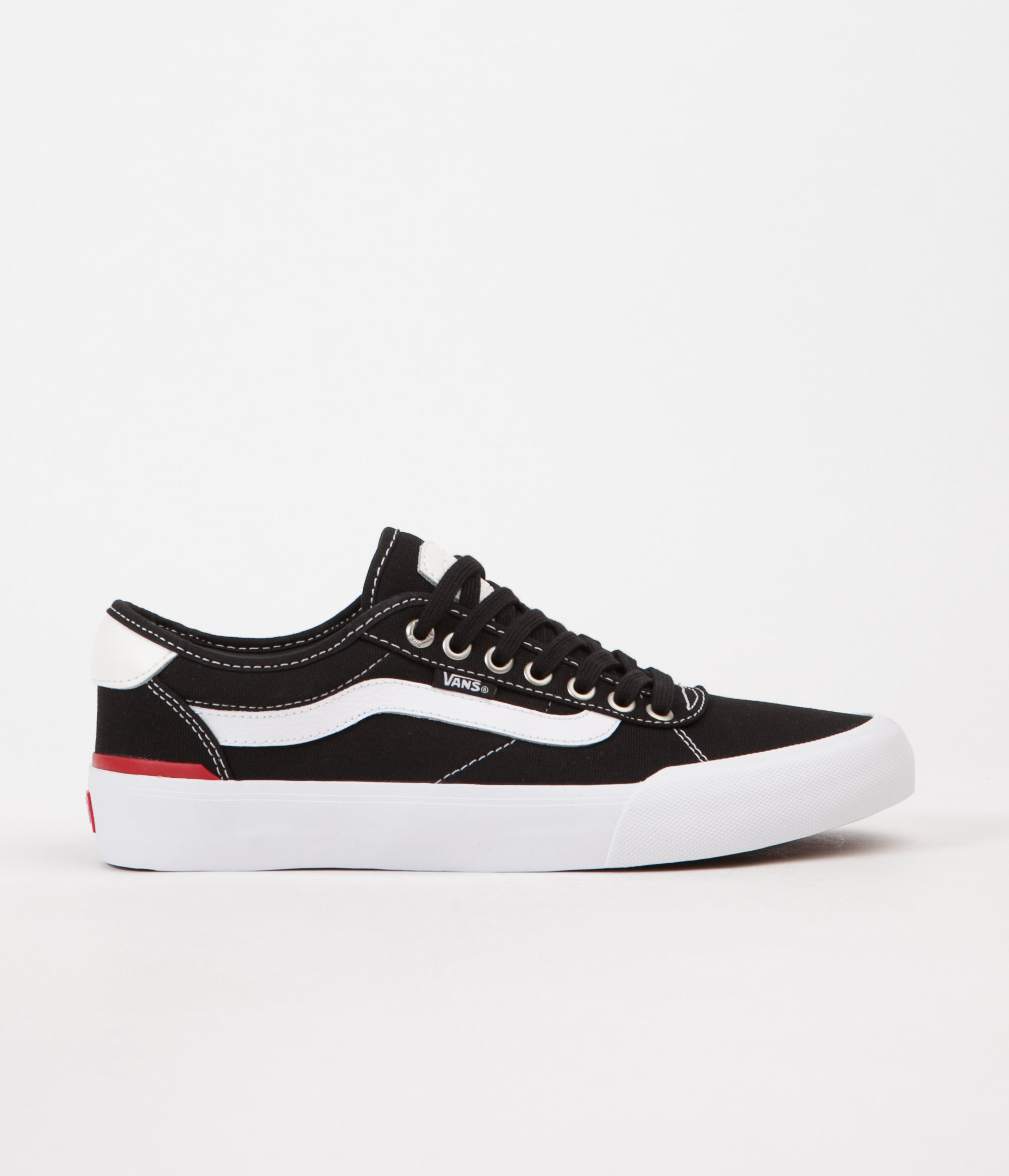 Vans Chima Pro 2 Shoes - (Canvas) Black   White  642fa496a