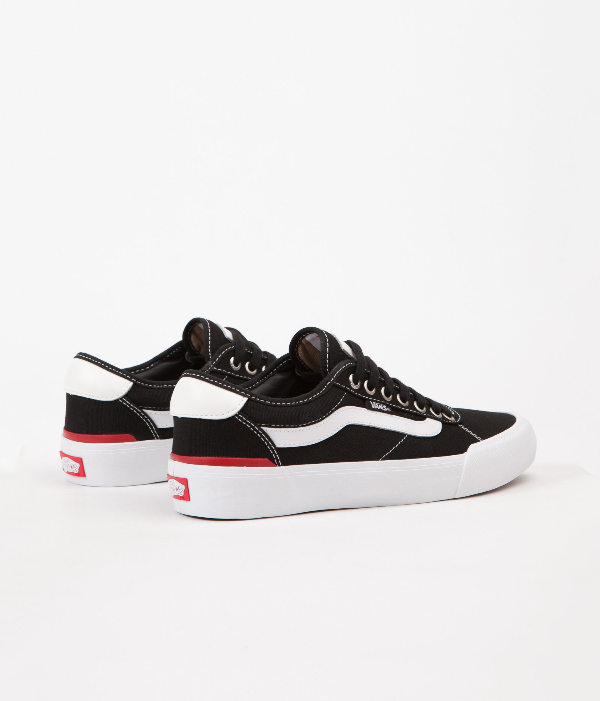 9aad6cd7731 Vans Chima Pro 2 Shoes - (Canvas) Black   White