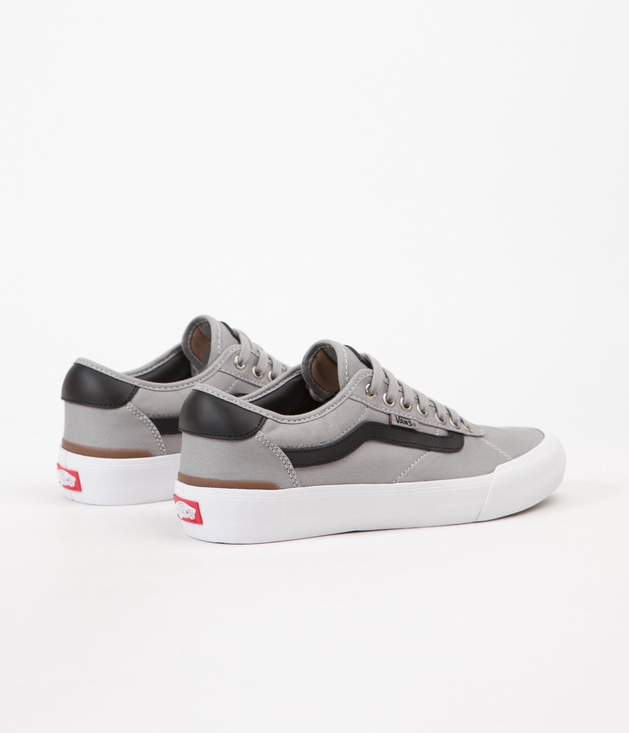f23c47d678f5cf ... Vans Chima Pro 2 Shoes - Drizzle   Black   White ...