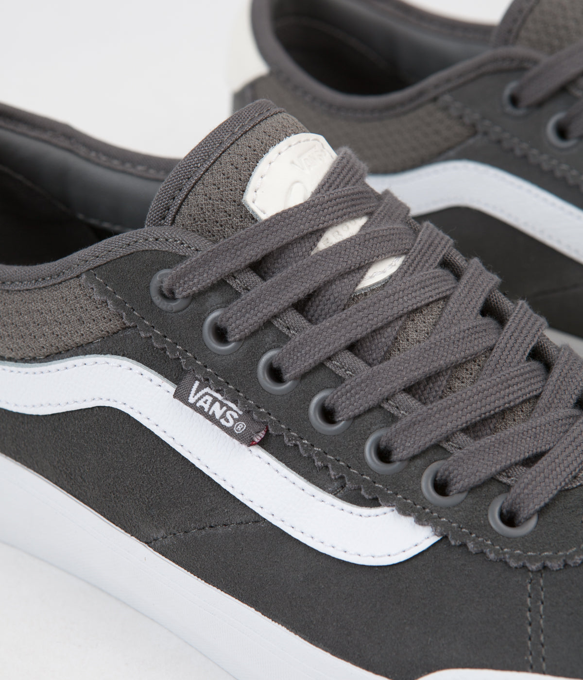 cf5f9164863 ... Vans Chima Pro 2 Shoes - Pewter   True White ...