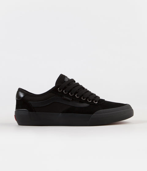 Vans Chima Pro 2 Shoes - (Suede) Blackout