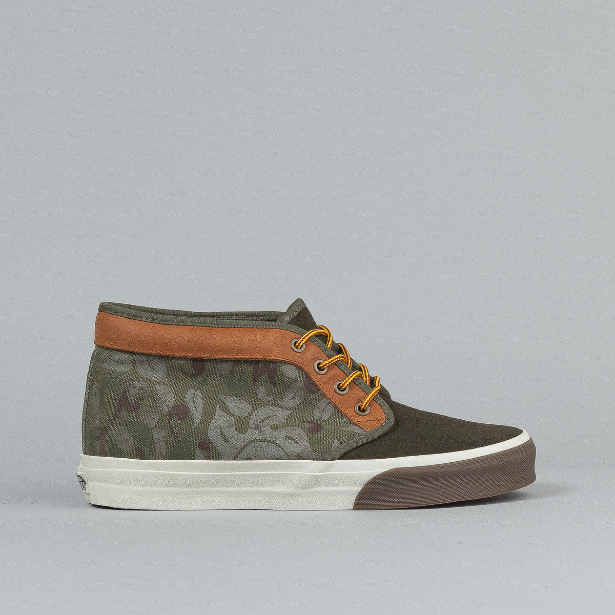 Vans Chukka Boot CA (Floral Camo) Olive Night