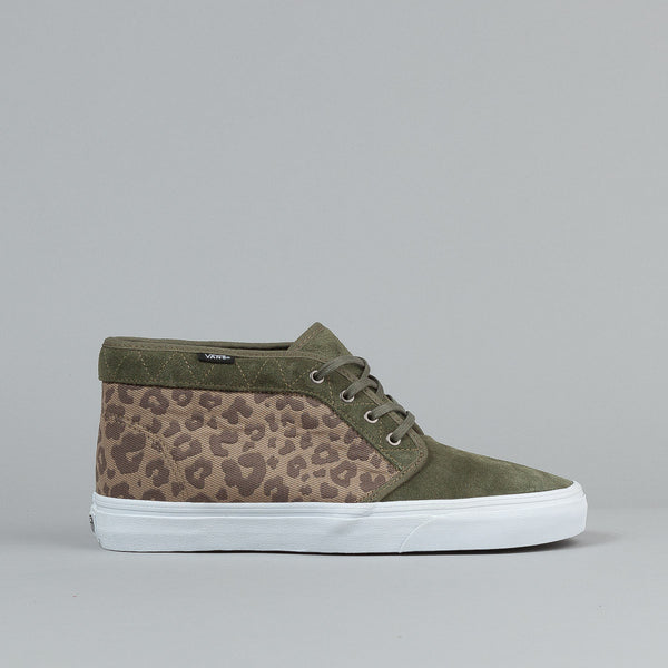Vans Chukka Boot CA (Leopard Camo) Grape Leaf