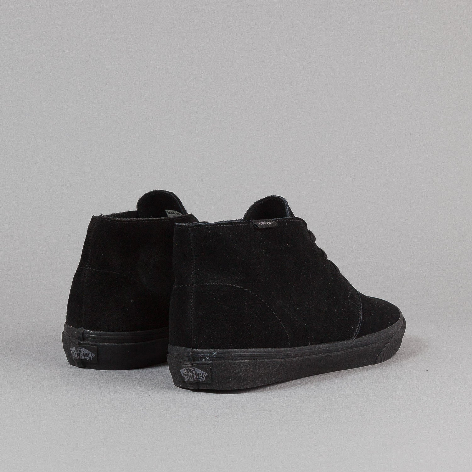 Vans Chukka Decon CA Shoes - Black / Black Suede