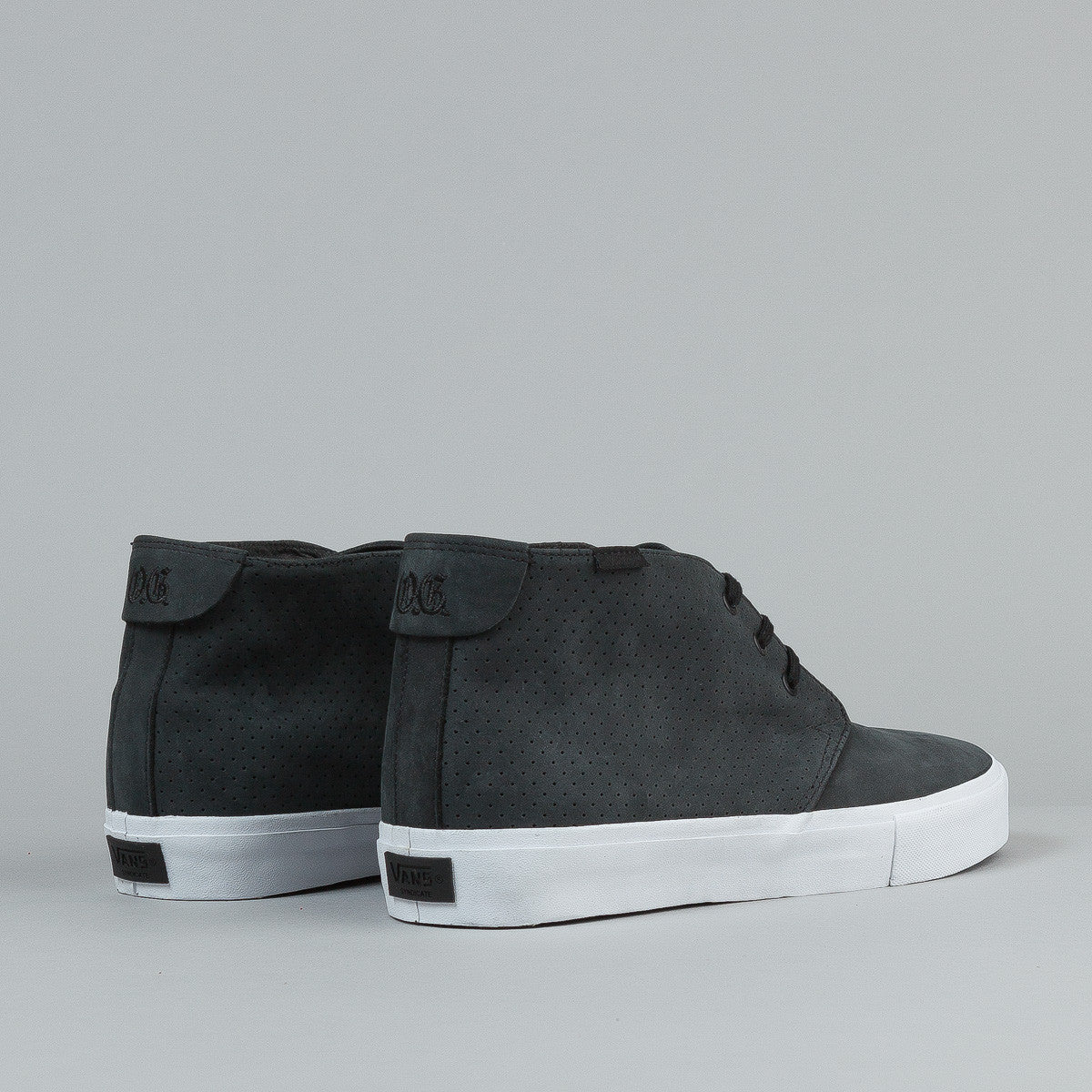 Vans Chukka Decon 'S' Shoes - (Ice-T) Black Perforated